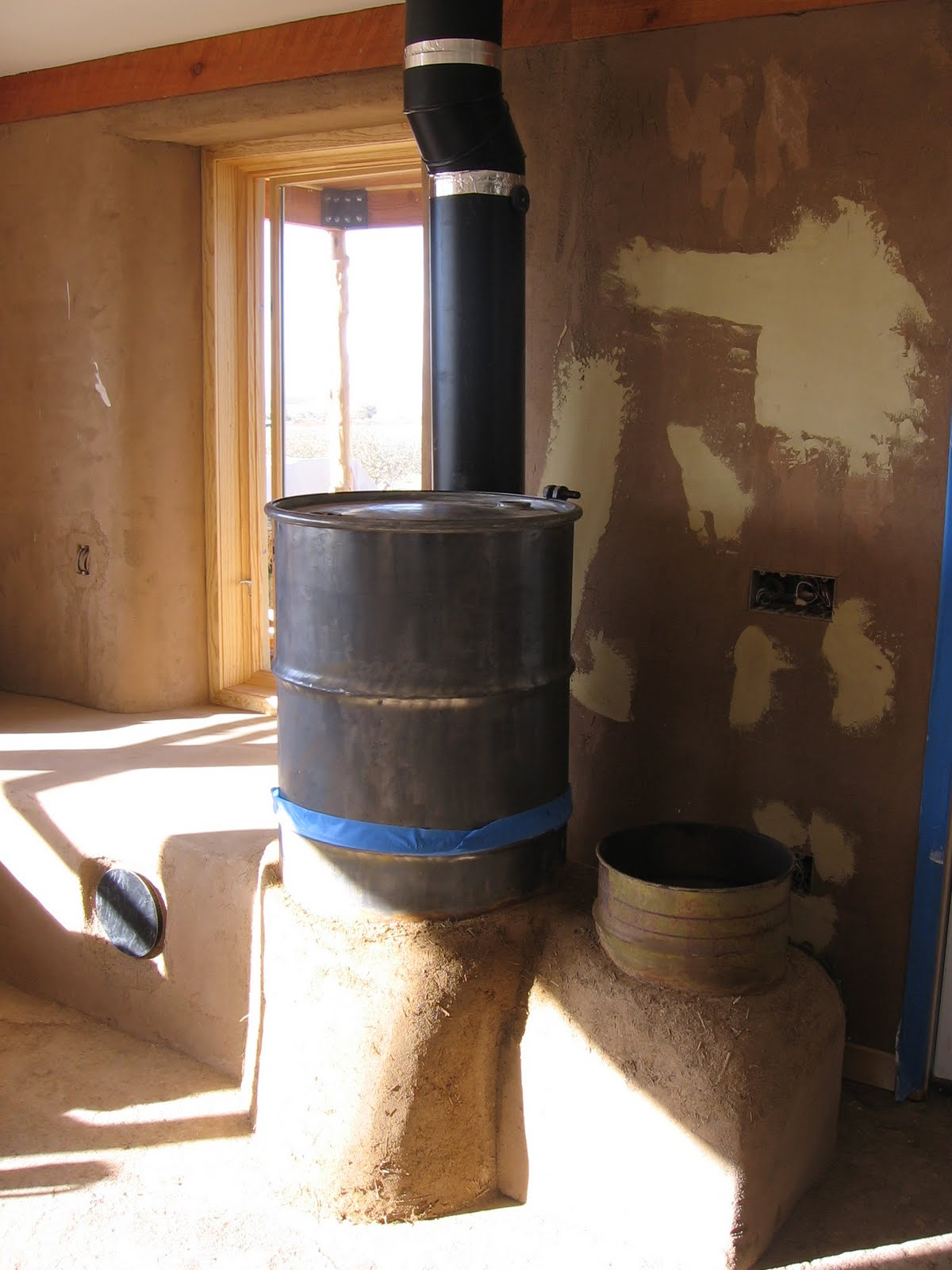 High Mountain Homestead Rocket Stove Mass Heater In