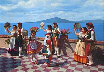 Dança Tarantella