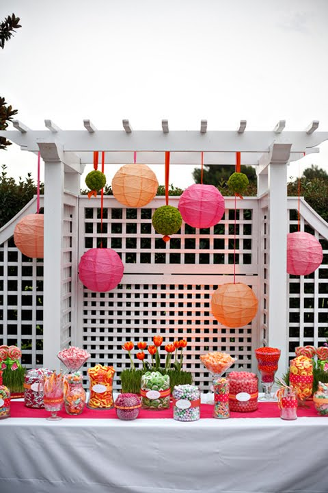 Pink Lanterns Decorations