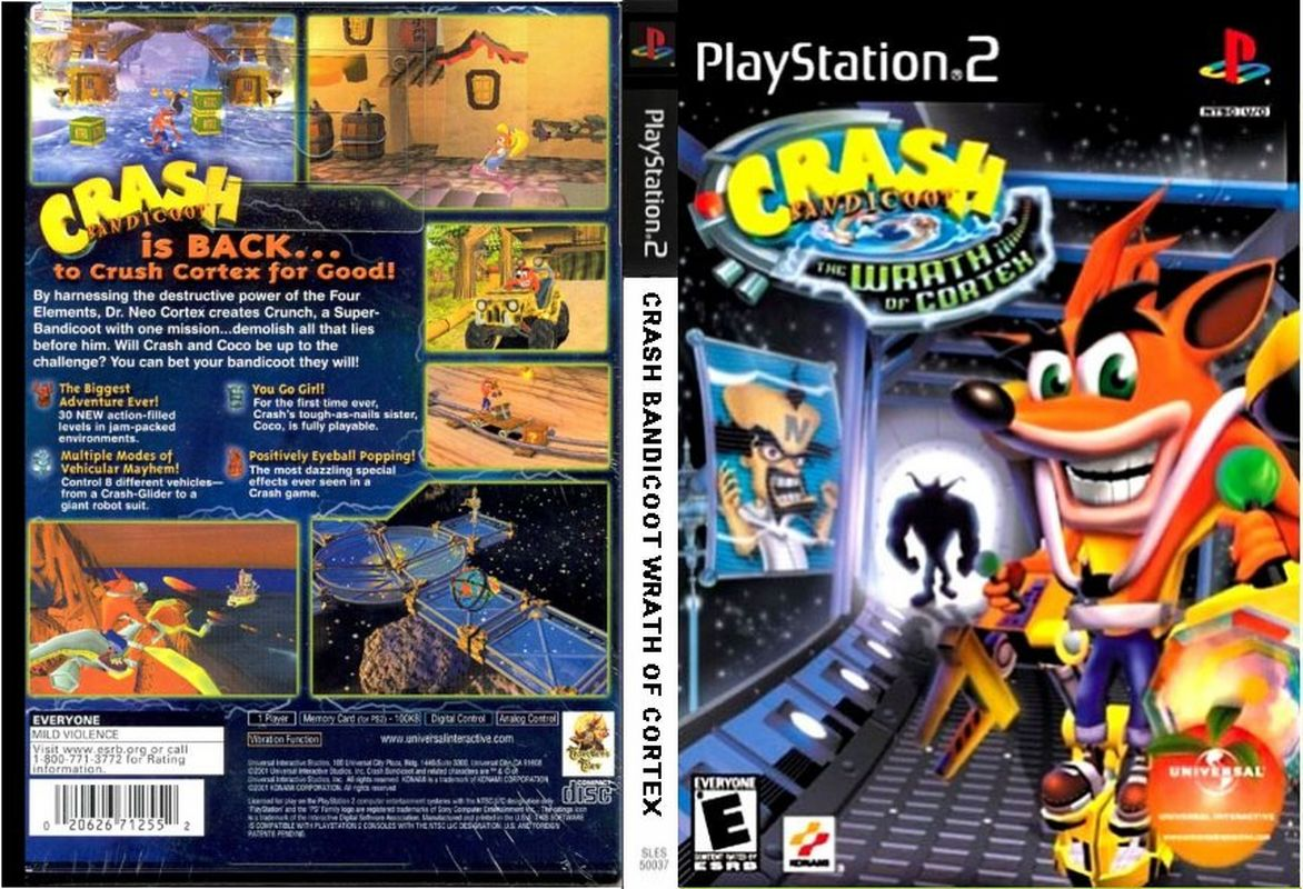 Crash Bandicoot: The Wrath of Cortex PS2 [MULTI6/PAL] [SS]
