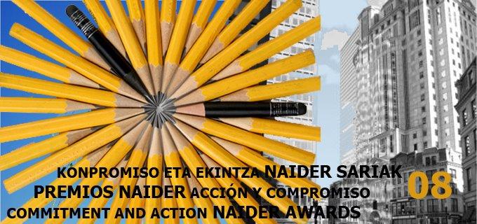 premios naider acción y compromiso 2008