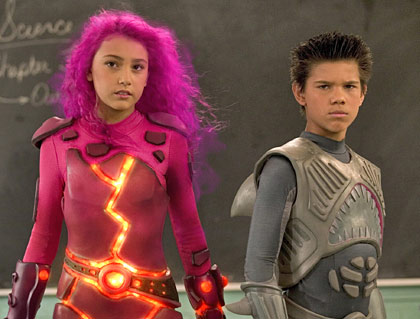 fan shark-boy lava-girl taylor action hero act angsty constipated sharkboy and lavagirl