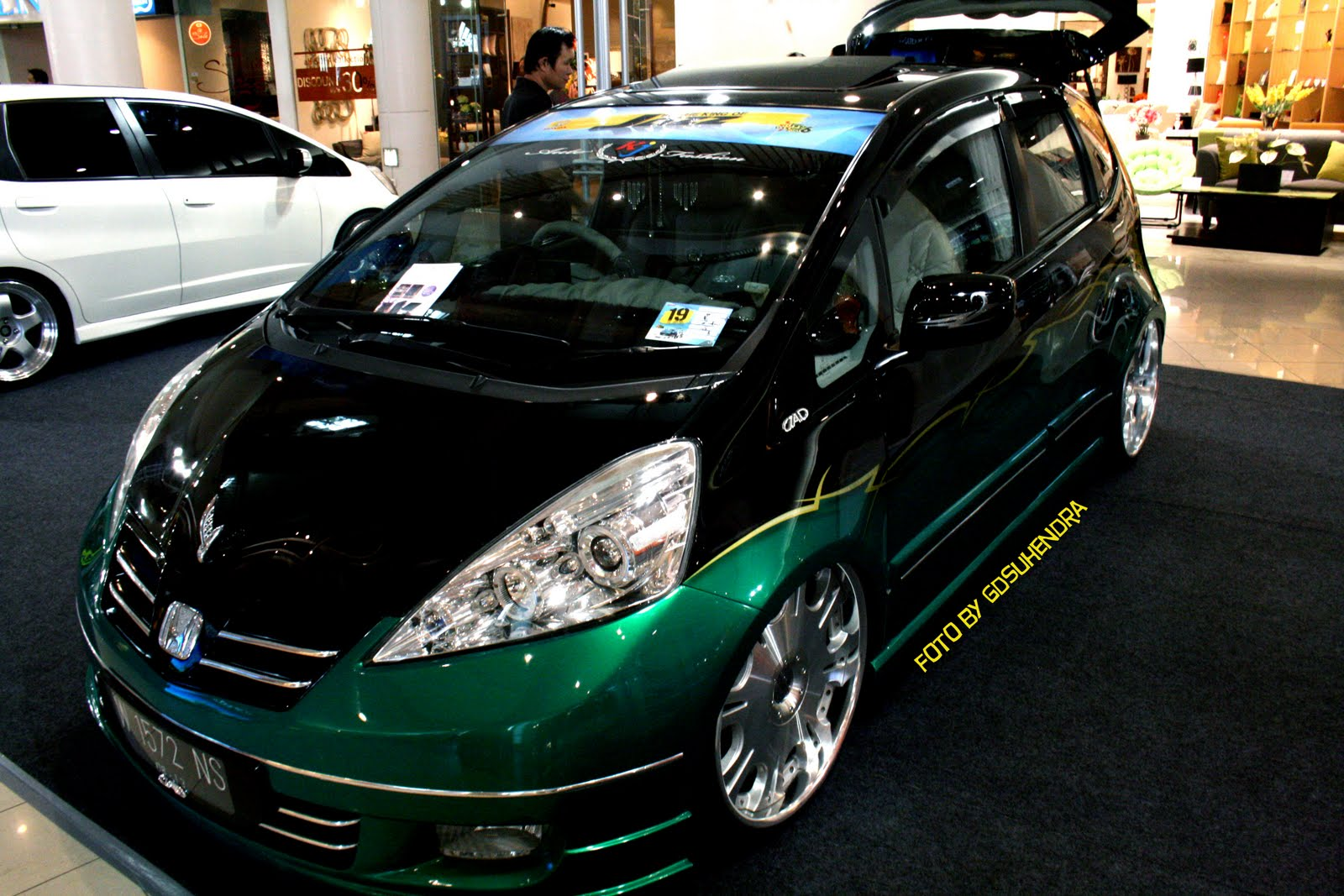 honda jazz freed tuning contest 2010. Black Bedroom Furniture Sets. Home Design Ideas