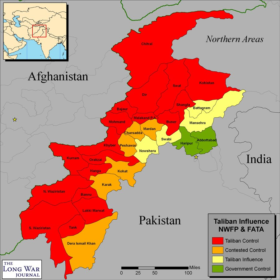 fata and nwfp taliban india security Home pakistan's own war on terror: what the pakistani (fata) 9 and the north-west frontier province (nwfp) as well as when the pipa team asked respondents whether the activities of the taliban and religious militants in fata and settled areas of pakistan pose a critical.