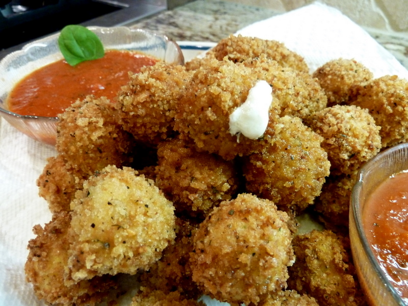 Cookin' Cowgirl: Fried Bocconcini Balls