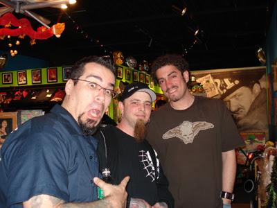 Keith, Matt (Skin Deep Tattoo) and Augie Pagan