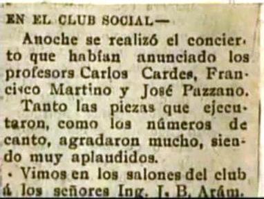 カルロス・ガルデル物語(El Bohe...