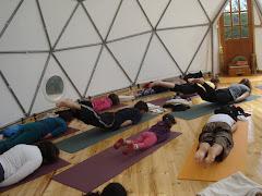 la clase de yoga mundial 31.1. 2010