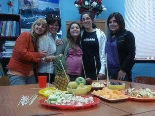 """Equipo """"Habilidades para la Vida""""entregando concimientos lucidos en los 7 colegios de Pto.Natales"""