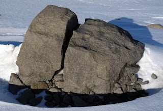Types of weathering mr carters igcse geography freeze thaw occurs when water continually enters into cracks freezes and expands eventually breaking the rock apart ccuart Choice Image