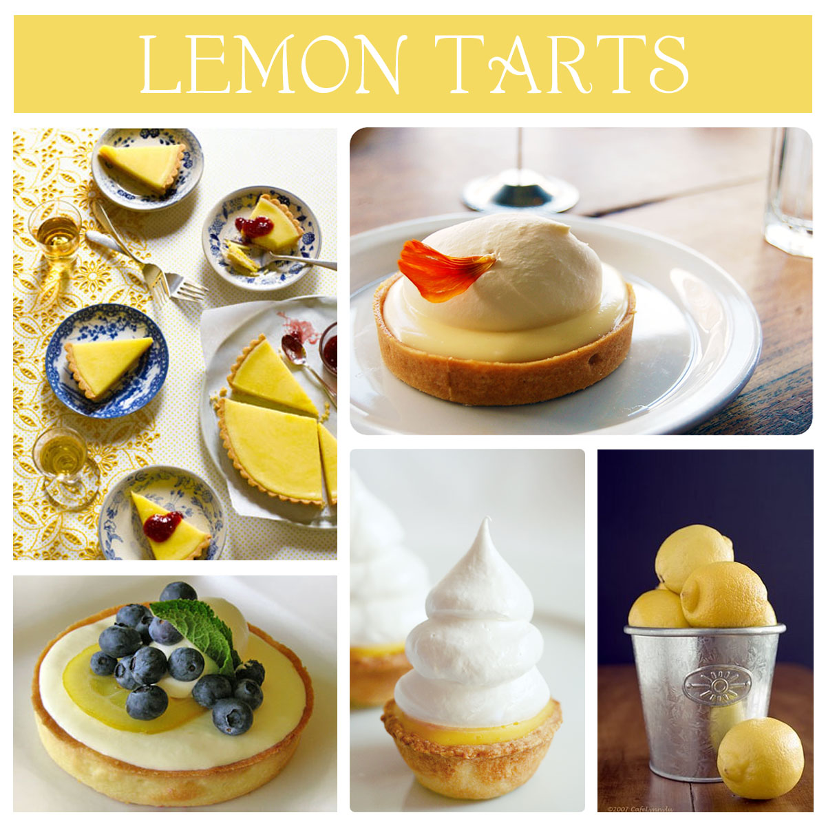 AM NOT A DIARY: Leave Your Lemon Tarts In My Oven