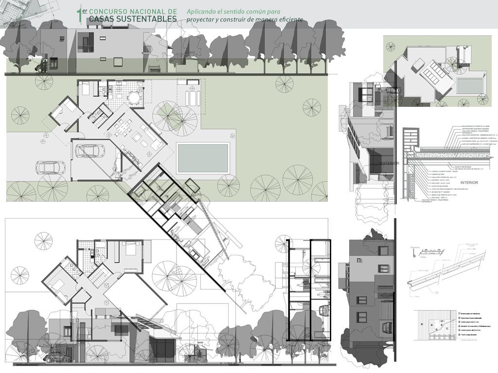 Arquitectura concurso vivienda sustentable for Vivienda arquitectura