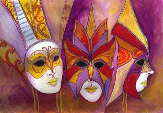 2229022 2 carnival masks Carnaval   Cecilia Meireles