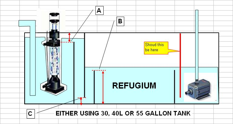 how to build a saltwater sump