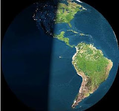 Imagen Satelital de Continente Americano