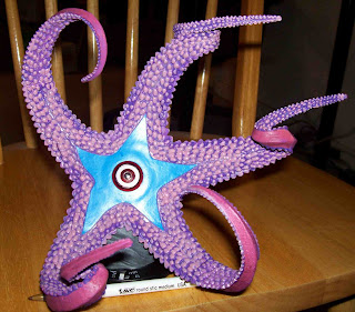 Interestingly Starro Has A Carinal Row On Each Arm And Five Primary Spines The Way Many Oreasterid Starfish Do With Shape Distinct Spine