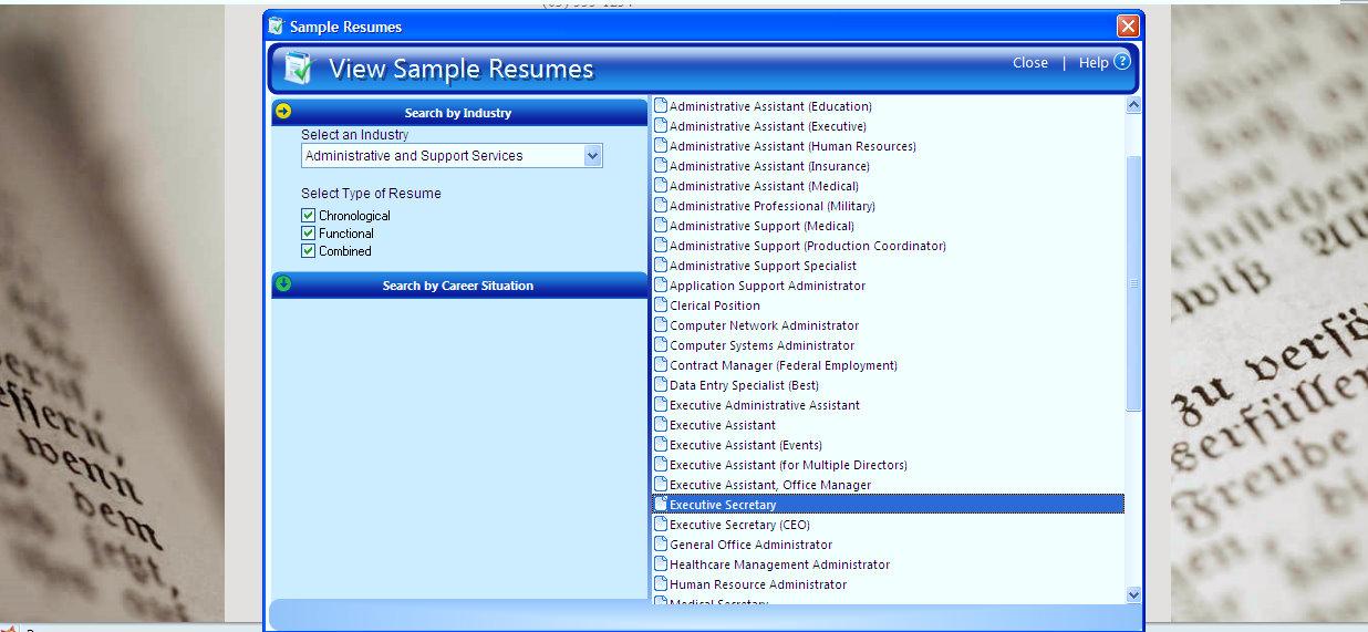 better resume better job