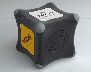 Iona Radio Cube