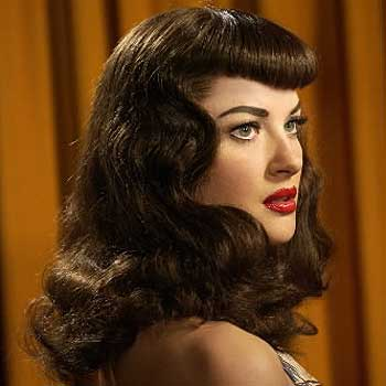 rockabilly girl hairstyle