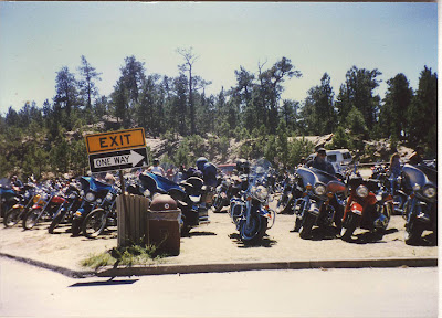 Annieinaustin, Sturgis rally in 1990's