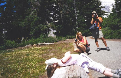 Annieinaustin, Mt Rainier photo op