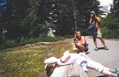 Annieinaustin, Mt Rainier photo op