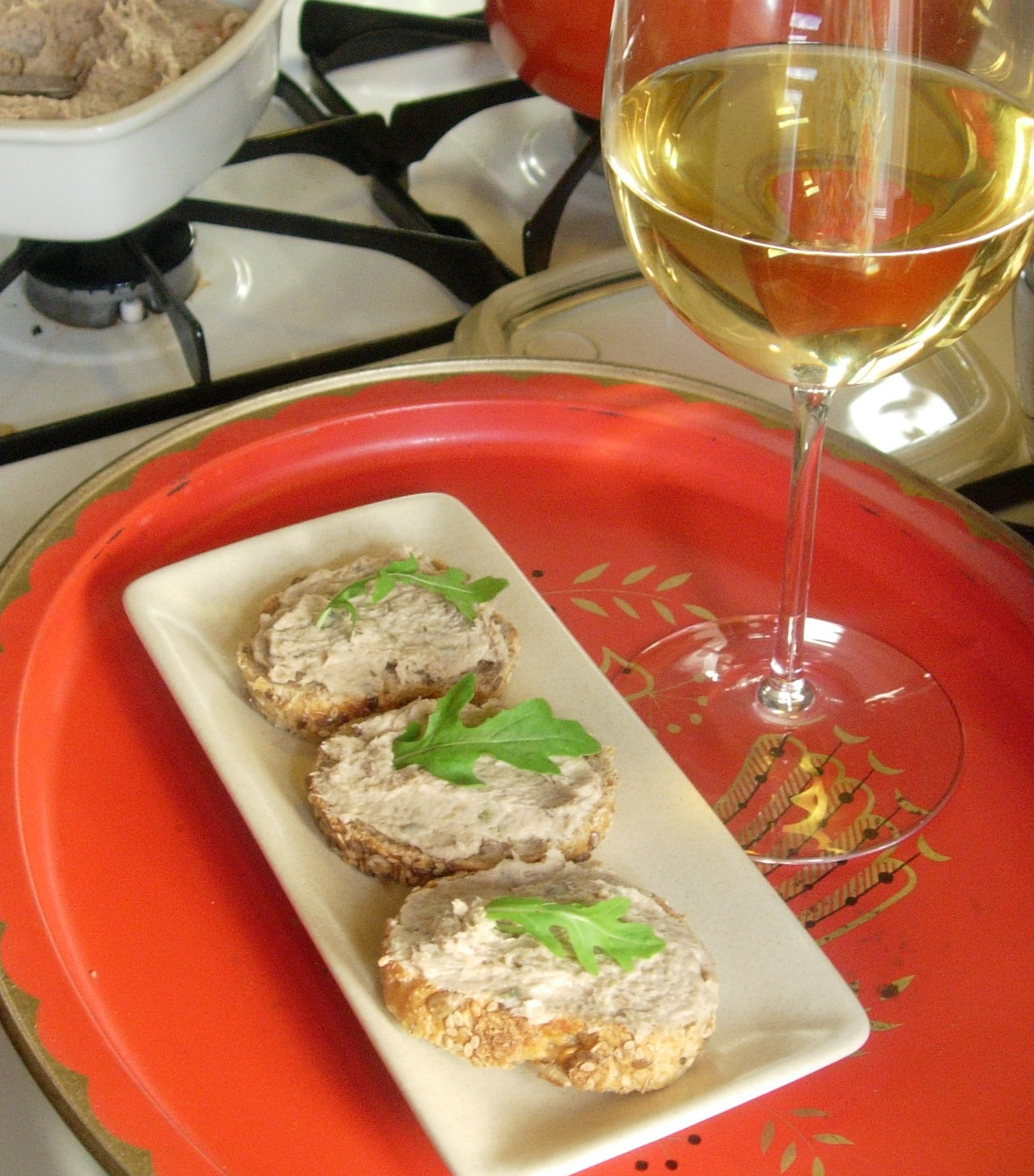 Party in my Pantry: Nantucket-style Smoked Bluefish Pate
