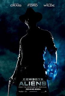 Cowboys vs Aliens movie poster