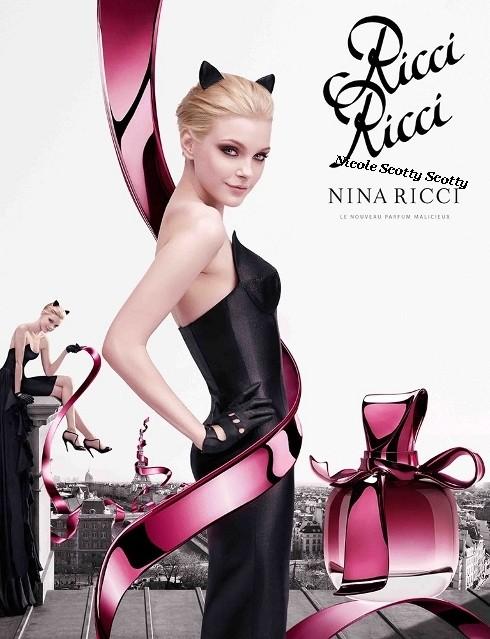 Super Top Model: Ricci Ricci, le nouveau parfum malicieux de Nina Ricci