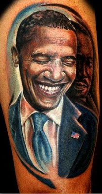 The humble libertarian barack obama tattoos for Does obama have a tattoo