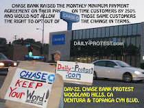 DAY-23, CHASE BANK PROTEST