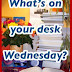 SASSY'S BOOK BLOG MEME: What's On Your Desk Wednesday? (24th June)