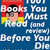 The AR 1001 Books to Read (and review) Before You Die Challenge | With PRIZES!