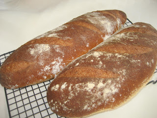 beer bread loaves