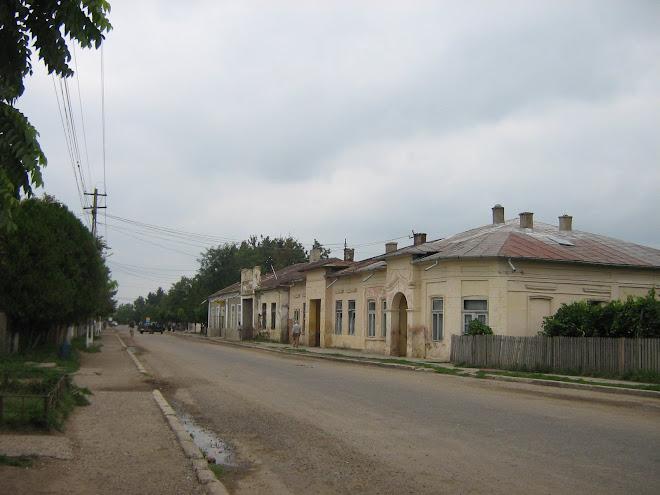 Centrul vechi al oraşului Ştefăneşti