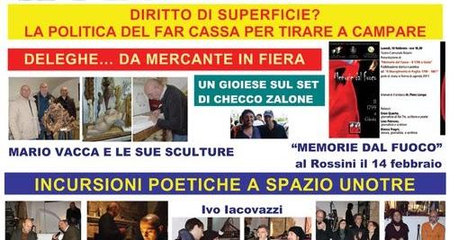 ... Gioia del Colle, Sammichele di Bari e Acquaviva delle Fonti (n. 1/2011