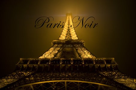 Paris Noir- A book by Steve Anderson