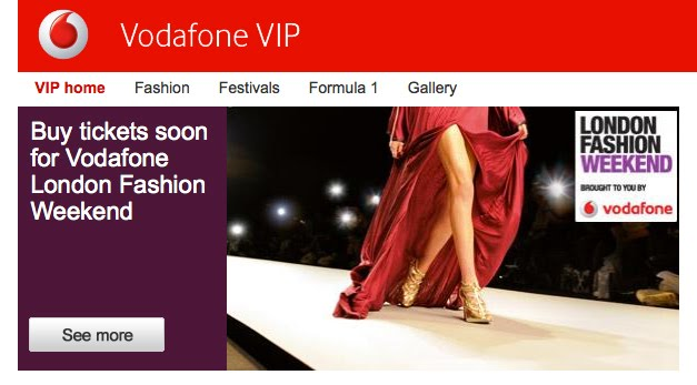 London fashion week vodafone 33