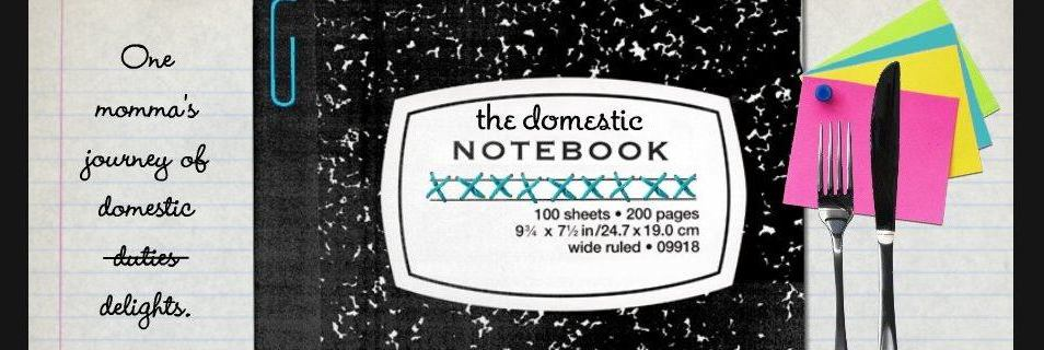 The Domestic Notebook: Giveaways and Reviews