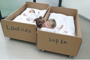 {Kids} Sustainable baby bed by Album di Famiglia