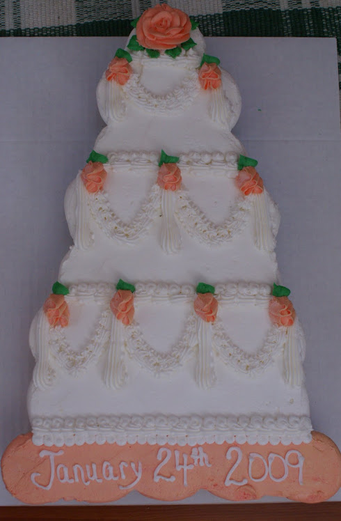 My cupcake wedding cake!