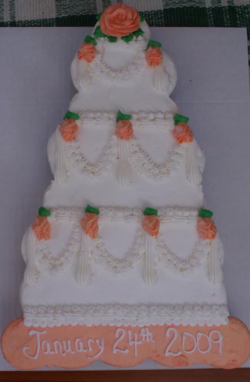 My cupcake wedding cake!