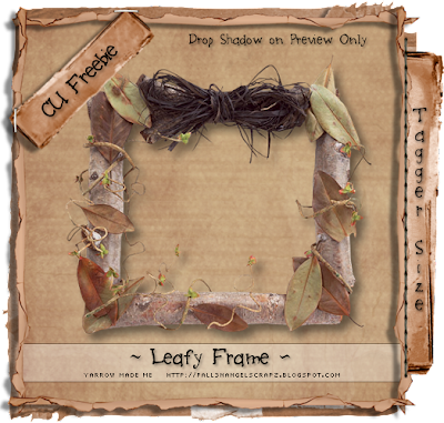 Woodsy Frame by Dark Yarrow LeafyFramePreview_Yarrow