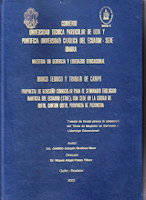 Tesis de Maestría de Joselito, Tomo I