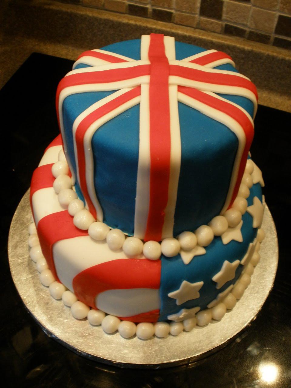Cake Decorating Job In Uk : Liz Felgate Crafts: Celebrating 10 years living in the USA