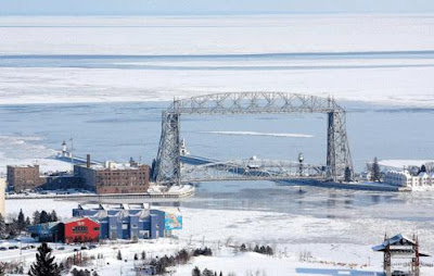 Brrrr… Ice Comes Early to Lake Superior For First Time in 17 Years