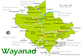 How To Go To Wayanad From KannurRoad Trip With Detatiled Road Map - Kannur map
