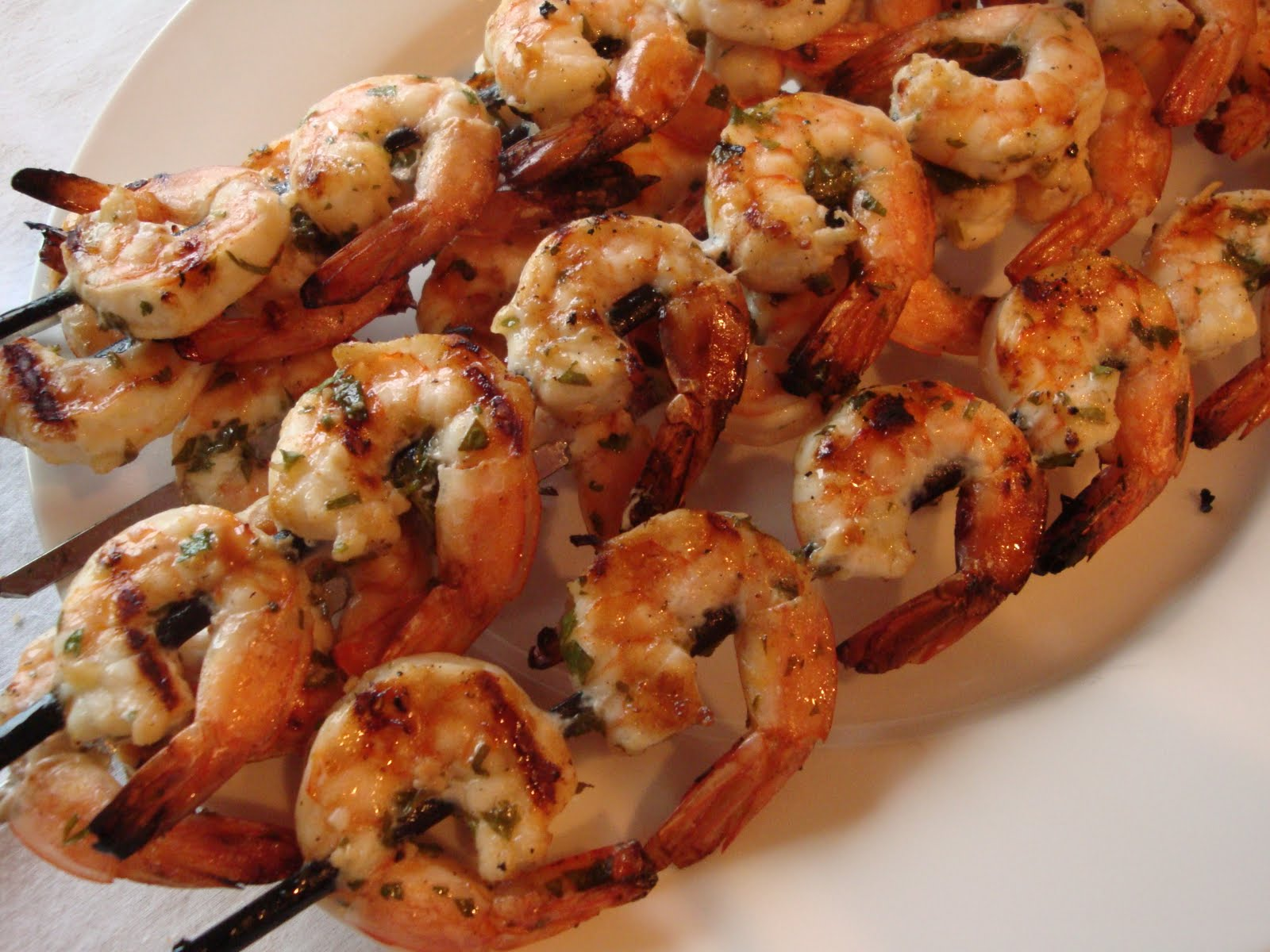 Marinated Grilled Shrimp Recipe — Dishmaps