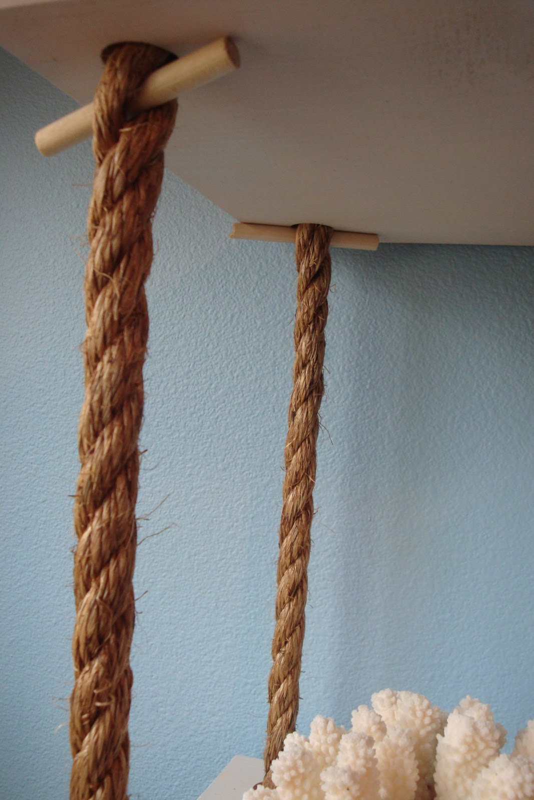 DIY Rope Shelf - DIY Show Off ™ - DIY Decorating and Home ...