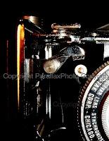 vintage classic camera black